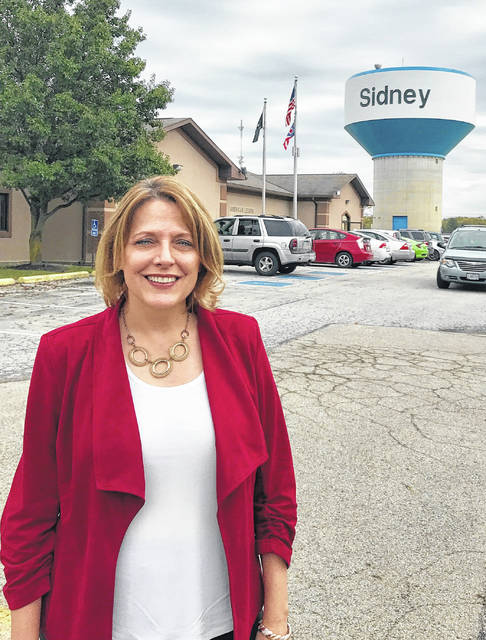 Democratic candidate for Ohio governor Connie Pillich made a whistle tour stop in Shelby County Saturday. She visited with veterans at the Sidney American Legion.