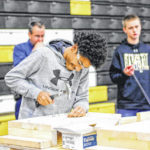 SHS students try skilled trades