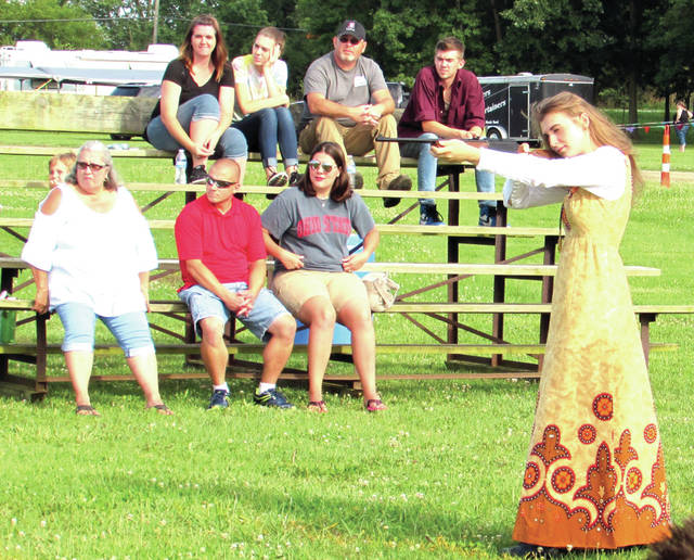 Last summer's Annie Oakley Festival was held at York Woods several miles north of Greenville. Annie Oakley Committee president JoEllen Melling feels the festival must return to the county fairgrounds in order to continue to grow.