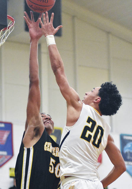 Andre Gordon shoots during a game against Centerville on Tuesday.