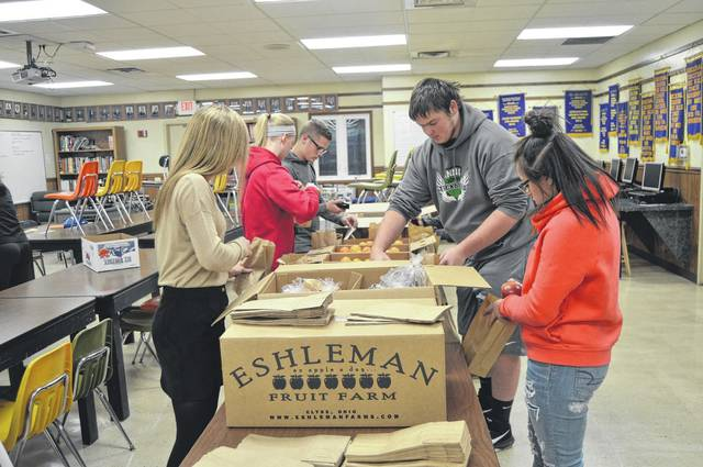 Food insecurity and healthy food choices are growing national issues that the Anna FFA Chapter wished to raise awareness for in the own community. To achieve this, the chapter members packaged healthy snacks to donate to elementary students in the district and provided them with an informative presentation on food insecurity and healthy eating.