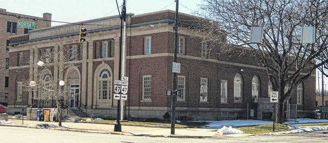 The Sidney Post Office, pictured at the corner of North Ohio Avenue and West North Street, is set for exterior renovations to begin on the north side of the the building starting Monday, March 26. Customer service in the lobby and mail distribution will not be affected.