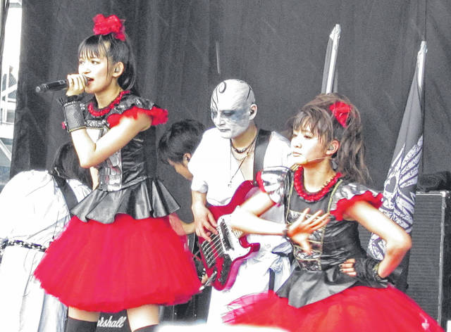 The bands Tool and Babymetal (pictured at the festival in 2015) will be featured Sunday, May 20, the final day of the three-day Rock on the Range music festival in Columbus, organizers announced Tuesday.