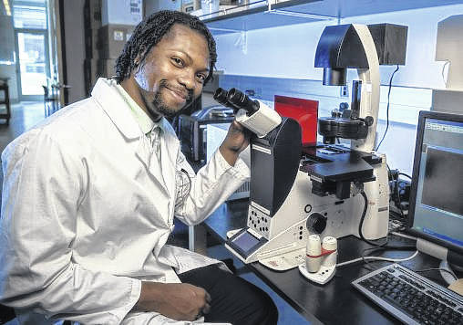 Marquise Crosby, a senior biochemistry and molecular biology major, is co-author of a research paper scheduled for publication in the journal Science.
