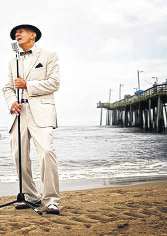 Frank Cubillo, of Virginia Beach, Va., will entertain as Frank Sinatra during a benefit for New Choices, May 10.