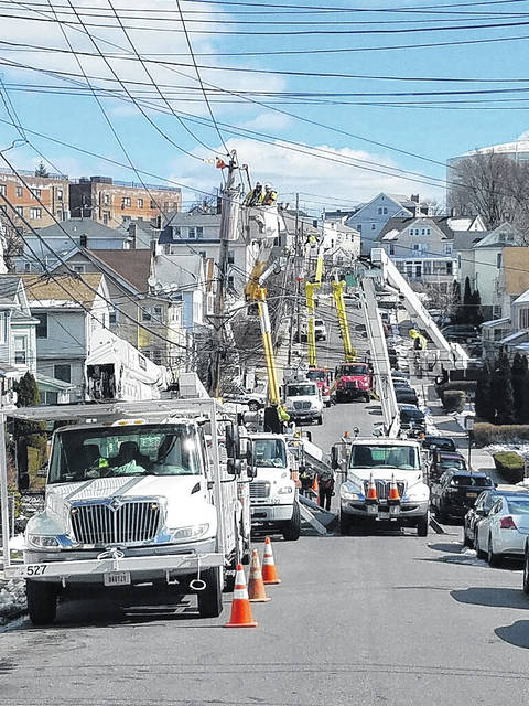 AMP crews who assisted in New York were Piqua, Tipp City, Celina, Jackson Center, Napoleon, Coldwater, Michigan, Westerville and Marshall, Michigan.