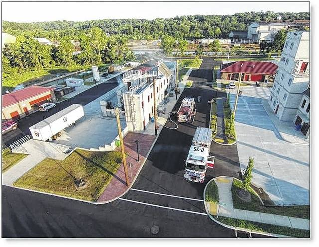 Pictured is the Public Safety Training Campus in Chester County, Pennsylvania, where training and education of area fire, EMS and police professionals and organizations takes place. It is an example of the Tactical Village and Public Safety Training Center which Sidney Fire Chief Brad Jones hopes to construct in Sidney. Manns Woodward Studios, one of the firms Sidney hired to develop plans for the city's third fire station, worked on the design for the Chester County training center.