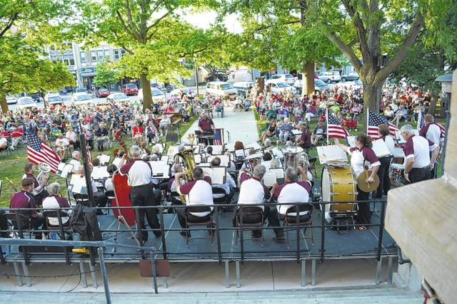 The Sidney Civic Band will begin its summer concert series June 22. The Swing Era Band will open the season on Friday, June 15, at 7 p.m. on courtsquare in downtown Sidney.