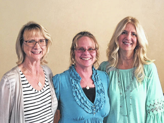 Retiring teachers elementary music teacher Jennifer Billing-Martz, elementary MD teacher Jody Haer, and elementary intervention specialist Kathy Braun were honored by the Sidney Education Association during its annual dinner in May.