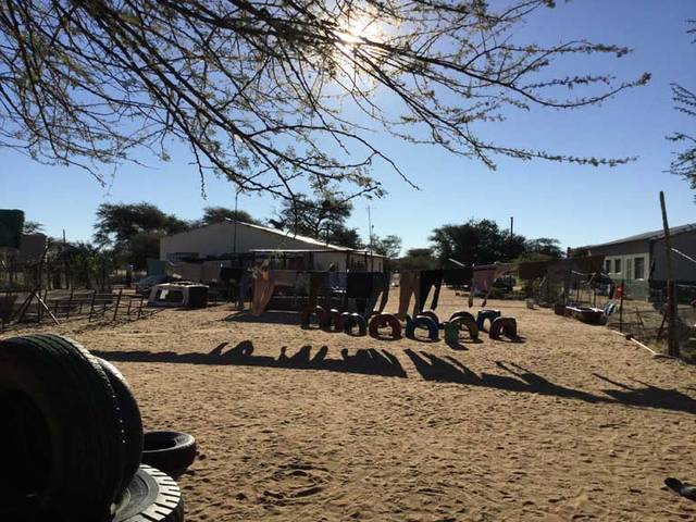 The farm where Jessica Witer, of Anna, resides during a mission trip to Namibia.