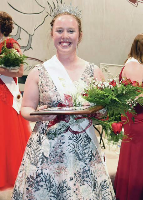 Faith Wilker, 18, of Versailles, daughter of Steven and Catherine Wilker, was crowned 2018 Miss Chick at Versailles Poultry Days Saturday, June 9.