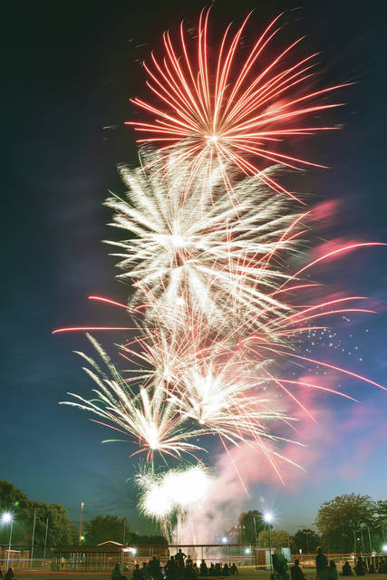 Fort Loramie Liberty Days held its fireworks display Friday, June 29. The fireworks were handled by High-Tech Special Effects.