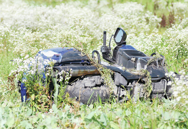A man driving a motorcycle on the 10000 block of County Road 59 north of Logansville at around 4:45 p.m. Friday, July 13 and a medical episode driving his vehcile into a field. He was not seriously injured. The Logan County Sheriff's Office and Maplewood Fire Department responded.