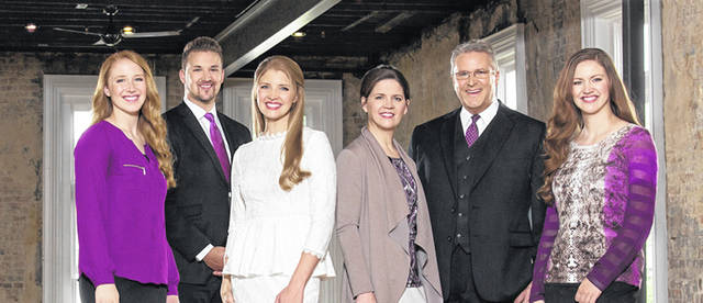 The Collingsworth Family will perform in Greenville on Nov.17.