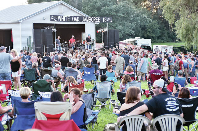 Saw Creek draws a crowd at White Oak Jamboree 2018 Saturday, Aug. 11. The two day event featured bands such as Kaitlyn Schmit and The Move Friday. Performing Saturday were Taylor and Rare Form, My Sister Sara and Reflektions.