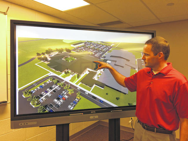 New Bremen Local Schools Superintendent Jason Schrader discusses the design for the new elementary school building for the district.