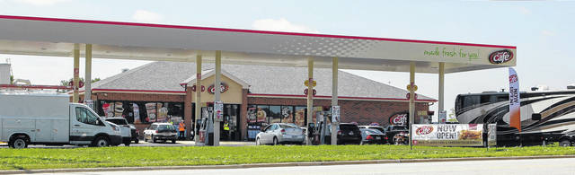 After being closed for months as a new building was constructed, the Speedway on Michigan Street reopened its pumps and convenience store Thursday morning. The new Speedway also features a Speedy Cafe. A grand opening for the store is planned for Sept. 1.