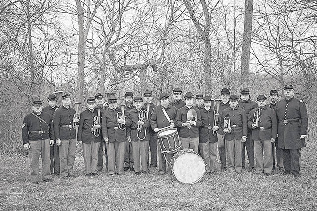 The 73rd Ohio Volunteer Infantry Regimental Band, directed by John M. Huffman, will again perform at Sidney's Civil War Living History Weekend, Sept. 15-16, in Tawawa Park.