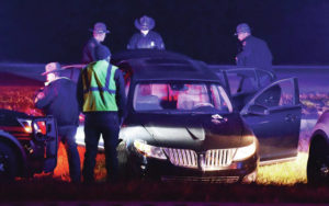 State trooper, vehicle collide during pursuit north of Sidney