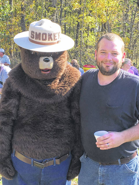 Smokey Bear will be at the Shelby Soil and Water Conservation District's Forestry Field Day on Sunday, Oct. 21, at 2:30 p.m.