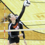 Versailles volleyball one win from defending state title after three-set win over Tuscarawas Valley