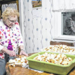 Making dinner — for 500 close friends
