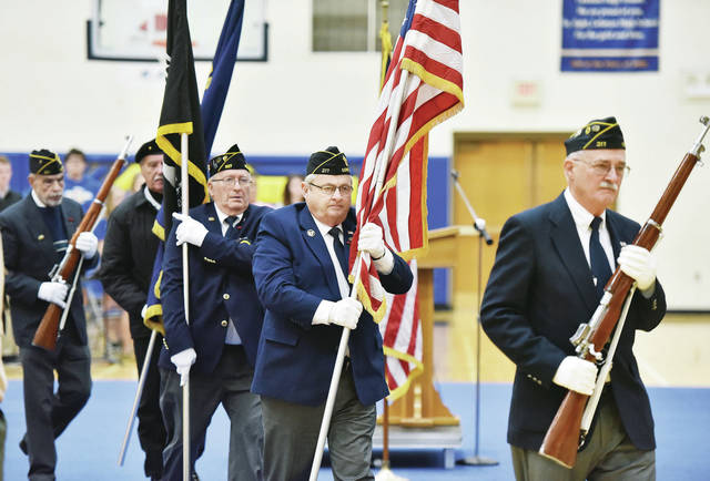 The Color Guard was made-up of Sidney American Legion and Sidney VFW members.