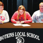 Two from Botkins sign for college track
