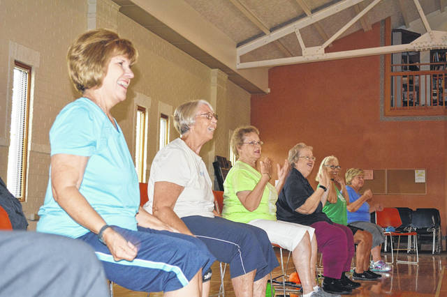 Exercise classes are well-attended at the Senior Center. Match Day gifts will support equipment and staffing for exercise and additional items for the Center.