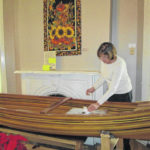 Arts council to raffle handcrafted canoe