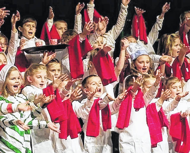 "Fairlawn School kindergarten and first-graders recently performed ""The Great Big Holiday Bake-off"" at the school. For more on their performance, see Page 5."