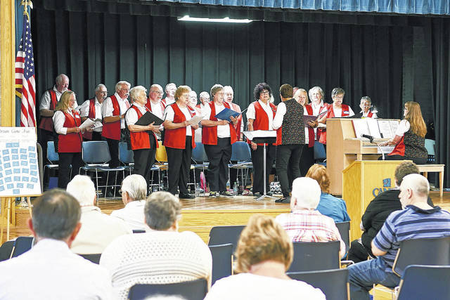 Senior Center Singers perform in a concert in 2017. Their 2018 Christmas concert will be Dec. 7.
