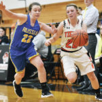 Girls basketball: Russia pulls away late for 52-37 win over Jackson Center