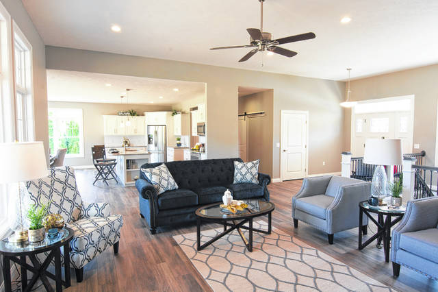 This is the interior of one of the homes Hoying & Hoying Builders completed in 2018.