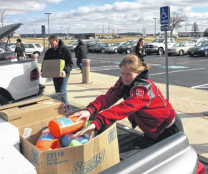 Fort Loramie food drive benefits St. Vincent DePaul pantry