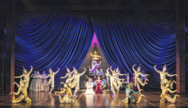 "The cast of the touring production of ""The King and I"" perform the ""Uncle Tom's Cabin"" number as a play within the play. The classic musical is at the Schuster Center in Dayton through Sunday."