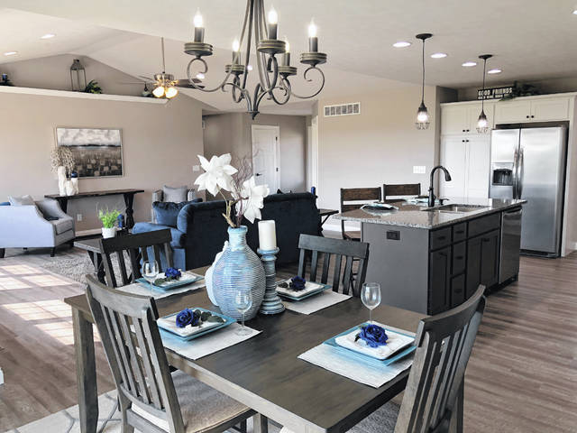 This is the interior of one of the homes Middendorf Builders completed in 2018.