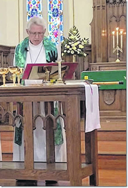 The Rev. Jonathan Schriber delivered his last sermon as pastor of St. John's Lutheran Church in Sidney, Ohio, on Sunday, Jan. 27, 2019.
