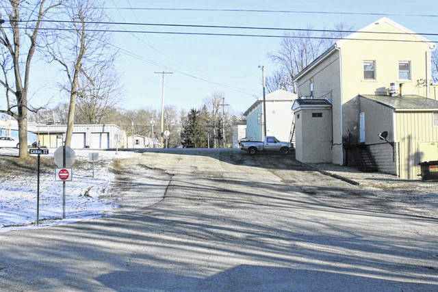 A small but heavily used portion of South Elm Street, west of the 47 Bar and Grill, in Port Jefferson, will be reconstructed later this year if funding is made available. The village plans to widen the street in the process which will provide more parking spaces.