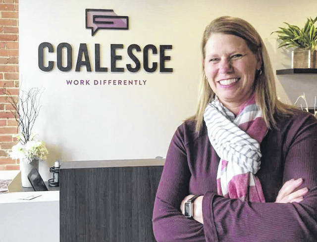 Shelly Busse's new business, Coalesce, aims to provide flexible work and meeting space, as well as her services as a person with years of leadership ideas and experiences.
