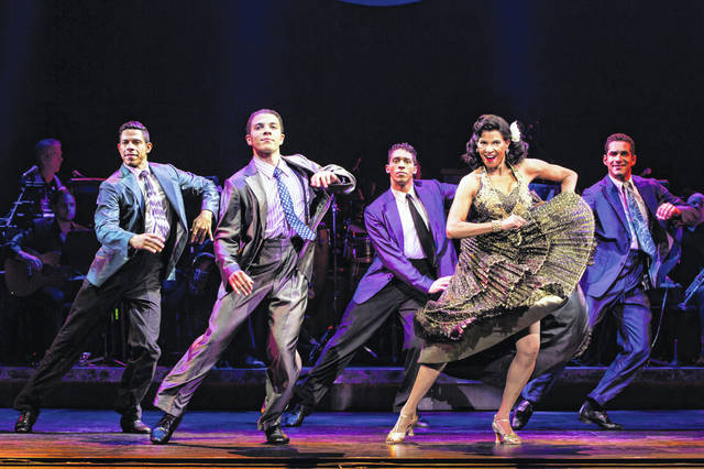 "The cast of ""On Your Feet"" gets their feet tapping in a song in the touring production, which runs in Dayton this week."