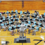 Junior High Honors Band performs in Botkins