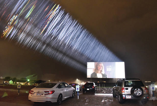 Rain didn't stop people from watching Captain Marvel at the Sidney Auto Vue Drive-In Theater Saturday, April 27. The first movie played was Avengers: Endgame which now holds the record for biggest opening weekend. According to Sidney Auto Vue Drive-In staff one man saw Avengers: Endgame in a movie theatre and then came out to watch it at the drive-in.