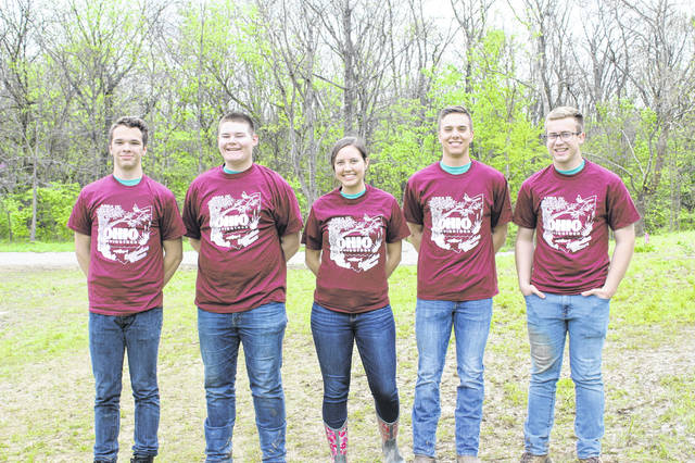 The Lehman Catholic Team placed fourth at the Area 4 Envirothon, which was held April 30 at the Ceasar Ford Park in Xenia.