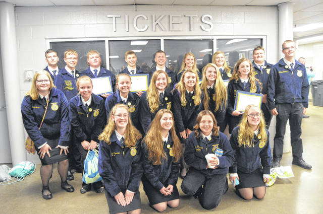 Anna FFA members attended the 91st FFA State Convention recently.