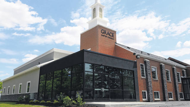 A grand opening ceremony is planned for Sunday, May 19, at Grace Baptist Church to unveil its new auditorium.
