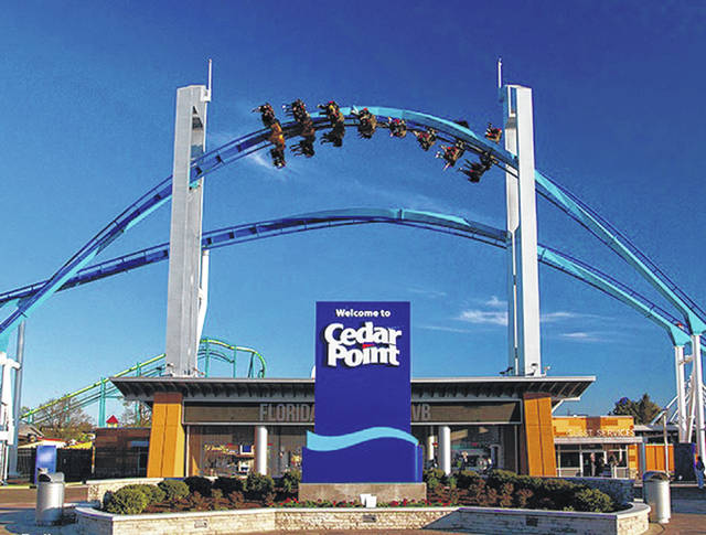 Sidney High School alumnus Rob Decker helped develop Gatekeeper, a roller coaster that greets guests as they arrive at Cedar Point.