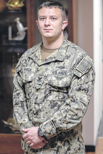 Petty Officer 1st Class Brad Wendeln, a graduate of Lehman Catholic High School, is a part of Task Force 52, which plans and executes mine warfare operations in support of U.S. 5th Fleet operational objectives.