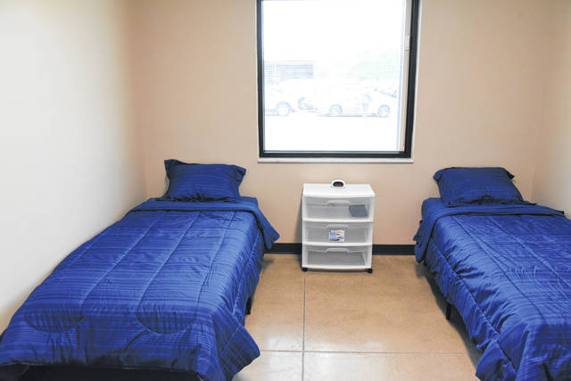 This is the sleeping quarters for the inmates who will be living at the STAR House.