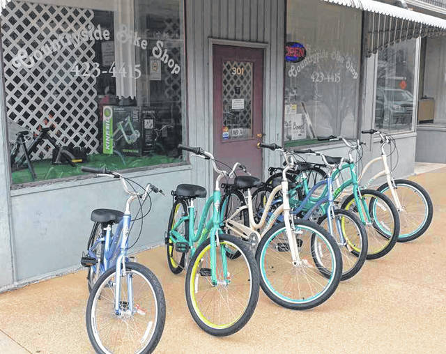 The Bish Discovery Center, in Greenville, will now offer bicycle rentals for visitors.